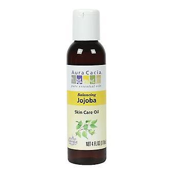 Aura Cacia Jojoba Oil, 4 Fl Oz