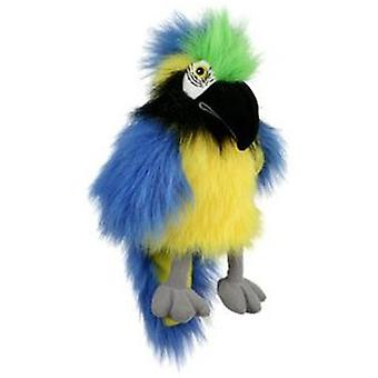 The Puppet Company Large Bird Blue And Gold Macaw Puppet