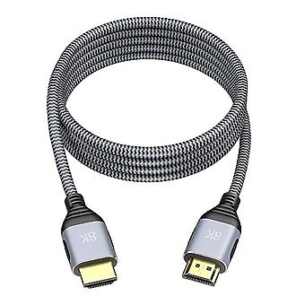 Hdmi-kompatibel 8k 60hz videokabel för bärbar dator med TV-skärm högupplöst e-sportkontakt hem ljudtillbehör