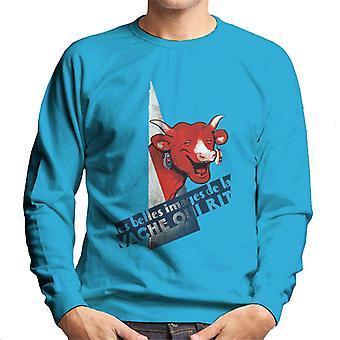 The Laughing Cow A Beautiful Image Men's Sweatshirt
