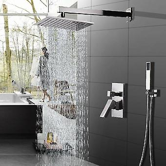 Wall Mounted Cold And Hot Water Mixed Handheld Faucet