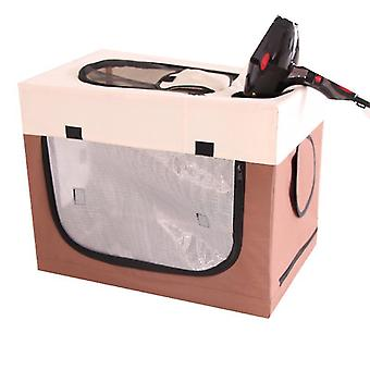 Foldable Pet Playpen Exercise Kennel With Carrying Case,exercise Pen Tent House(BROWN)