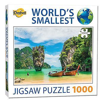 World's Smallest Jigsaw Puzzle - Phuket (1000 Pieces)