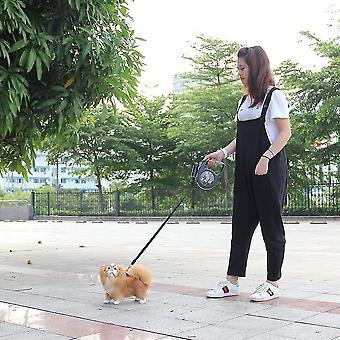 Behúzható kutya póráz 8m 50kg kiterjesztése Pet Póráz ólom nagy kutya LED-es