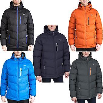 Нарушение Мужская Blustery Padded Полный Зип с капюшоном Зимний Теплый Puffer Куртка пальто