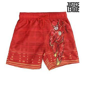 Kinderbadekostüm Justice League 72728 Rot