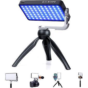 G2 Pocket RGB Video Licht, 12W Eingebaute 4300mAh Akku 360Voller Farbraum 9 Licht