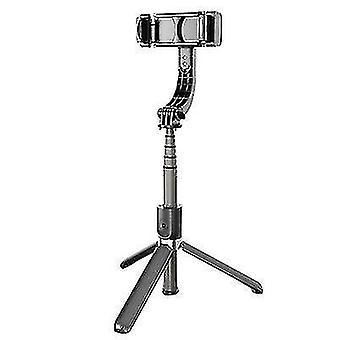 Anti-Shake Smart Selfie Stick, Bluetooth Fernbedienung 360?? Telefonhalter drehen (Schwarz)