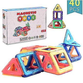 Hobaby Magnetic Building Blocks, Durable Magnetic Tiles Educational Stem Toys Set
