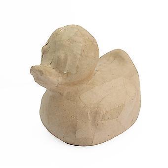 Forme simple de papier de modèle de canard en caoutchouc de 11cm pour décorer