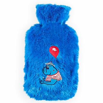 Biggdesign Mr.Allright مان حقيبة الماء الساخن الأزرق