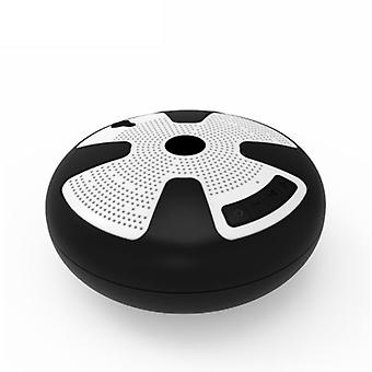 Bluetooth speaker, portable wireless IPX7 waterproof floating bluetooth speaker, with TWS function, heavy bass, stereo pairing, durable, suitable for swimming pool, beach, shower, travel(Black)