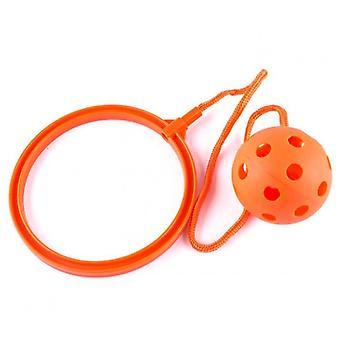קפיצות צעצוע סווינג כדורים - משחק כושר נהדר לילדים (כתום)