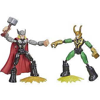 Avengers &Flex Thor vs Loki Figuras