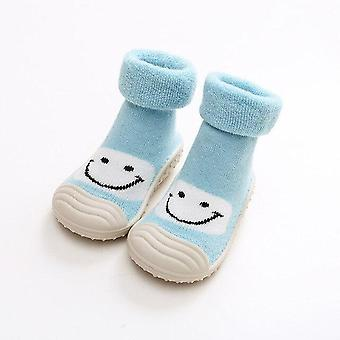 الشتاء الدافئ أحذية الثلج الجوارب، نحى أحذية سوك سميكة - 2