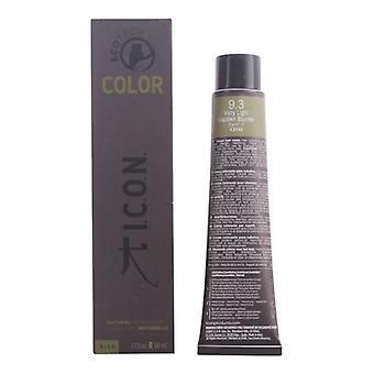 Permanente Kleurstof Ecotech Kleur Natuurlijke Kleur I.c.o.n. 9.3 zeer licht goudblond (60 ml)