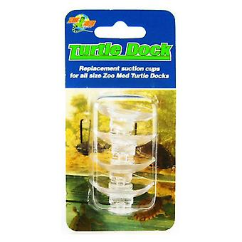 Zoo Med Turtle Dock Ventuze Cupe - 4 Pack