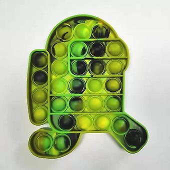 Push Fidget Spielzeugblase Stressabbau Antistress Squeeze Sensorischer Autismus Besondere Bedürfnisse Adhs Squishy