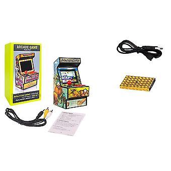 156 spil i 1 håndholdt mini arkade spil med 2,8 tommer farveskærm og genopladeligt batteri (Blå