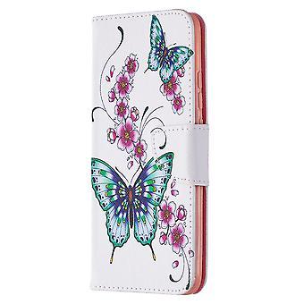 Cover für Xiaomi Redmi 9a Muster Flora Schmetterling