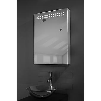 Vania LED világító tükör szekrény érzékelővel & Shaver k263