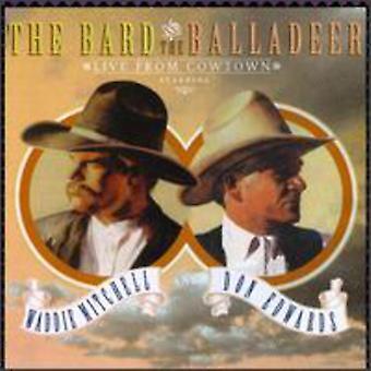 Mitchell/Edwards - Bard & importação EUA Balladeer-Live From [CD]