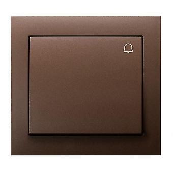 Duży przycisk Push reaktywne wydania drzwi Bell przełącznik płyta różne kolory