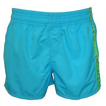 Drogba & Co. door strand HOM boxershorts, Turquoise