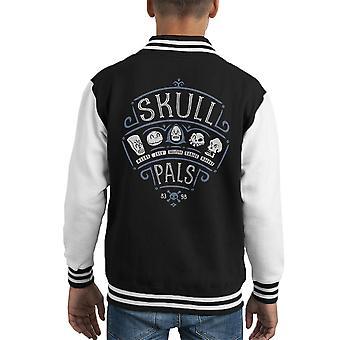Schädel Pals Grim Fandango Kid Varsity Jacket