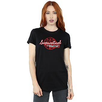 Supernatural Women's The Musical Boyfriend Fit T-Shirt