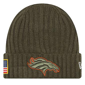 New era salute la serviciu pălărie de iarnă-Denver Broncos