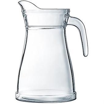 Bucolique Krug 1,3 L Reinheit zertifizierte Glas hygienisch Glas große für Zuhause oder im Restaurant