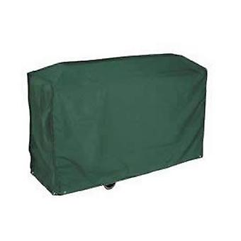 Caraselle Deluxe donker groen Bosmere Wagon BBQ-Cover 124x91x61cm