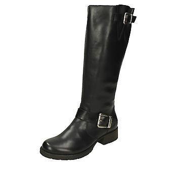 Ladies Rieker Knee Length Boots Z9580