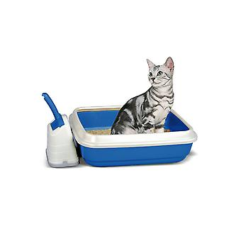 Imac Duo Cat Litter Tray With Scoop And Holder