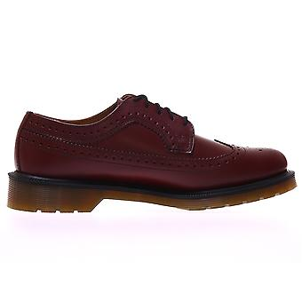 Dr Martens Cherry Red Smooth Brogues 13844600 ellegant all year men shoes