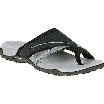 Merrell Damen/Damen Terraner Post II Slip-On Walking Sandalen Leder