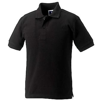 Russell Schoolgear Boys And Girls Short Sleeve polycotton Polo Shirt