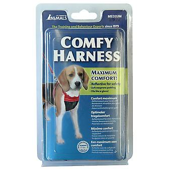 Company Of Animals Comfy Dog Harness Black Medium