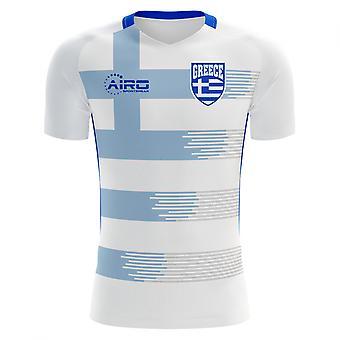 2020-2021 اليونان مفهوم المنزل لكرة القدم قميص