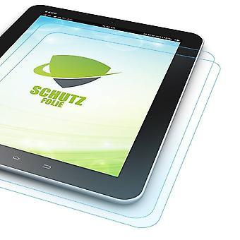 2 x näytön suojus Samsung Galaxy tab S3 9.7 T820 T825 + puhdistusliina