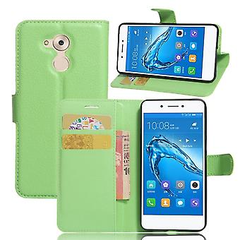 Pocket wallet premium green for Huawei honor 6C protection sleeve case cover pouch new