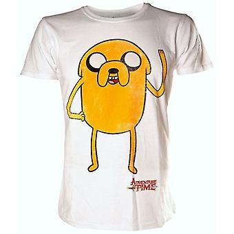 ADVENTURE tid Jake vinker ekstra store T-Shirt, hvid (TS301120ADV-XL)