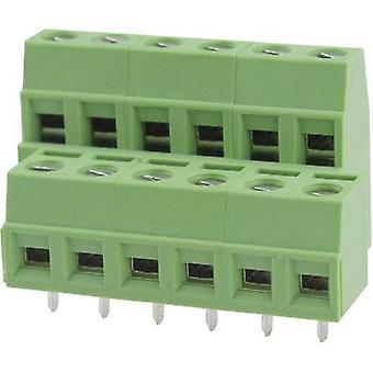 Degson DG127A-5,08-06P-14-00AH Screw terminal 2,08 mm² aantal pinnen 6 groen 1 PC('s)
