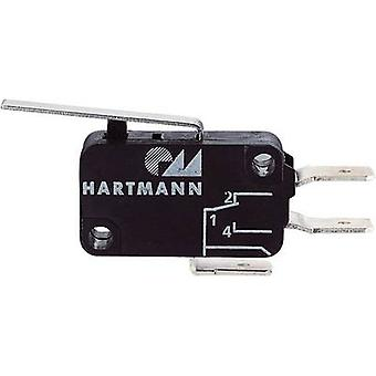 Hartmann Microswitch 04G01C04B01A 250 V AC 16 A 1 x On/(On) momentary 1 pc(s)