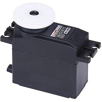 Graupner Standard servo DES 805 BB Digital servo Gear box material: Carbon Connector system: JR
