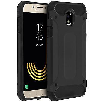 Defender II serie protezione Custodia Samsung Galaxy J7 2017 - prova di goccia - nero
