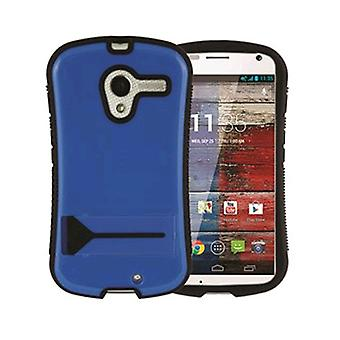 Xentris Wireless hybride Shell voor Motorola Moto X - blauw/zwart