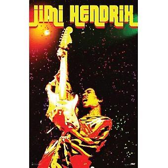 Jimi Hendrix Voodoo elektrische Voodoo Poster Poster afdrukken