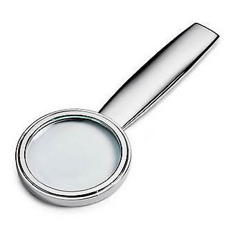 David Van Hagen posrebrzane, szkło powiększające - srebrny